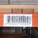 Etiquettes code barre magnétique